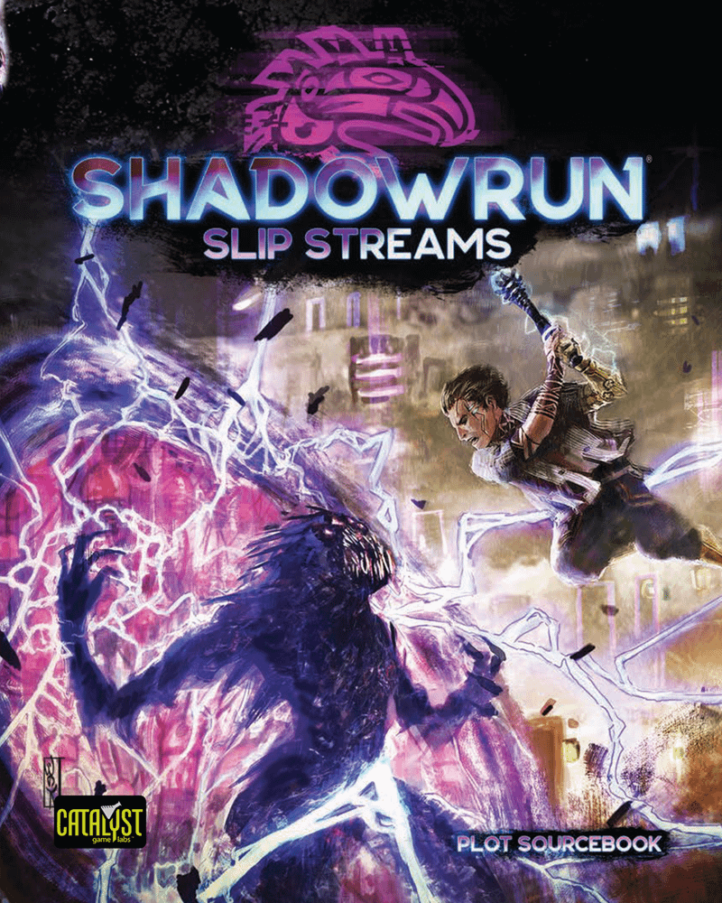 Couverture du plot sourcebook Slip Streams