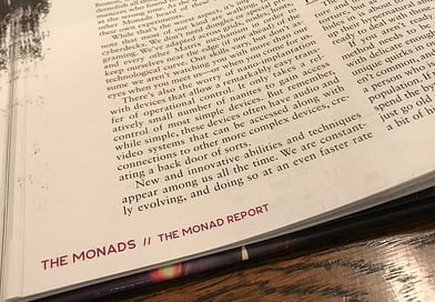Collapsing Now — Les Monades