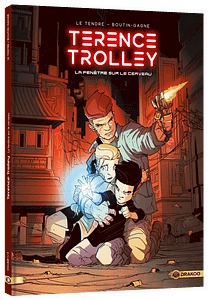Bande dessinée Terrence Trolley - La fenêtre sur le cerveau