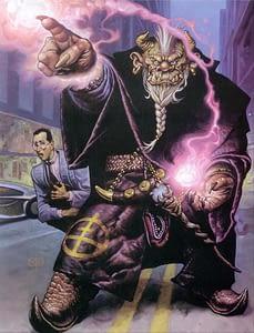 Shaman troll