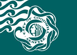 SR World drapeau de Seattle