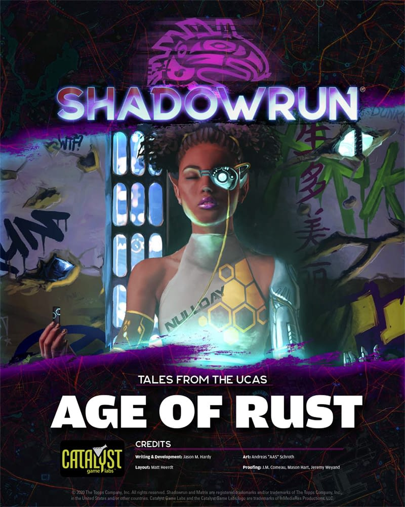 Shadowrun 6 - Tales from the UCAS - Age of Rust