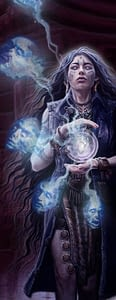Investigatrice de l'occulte elfe
