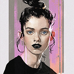 Benjamin Giletti - Portrait basé sur Laura O'Grady