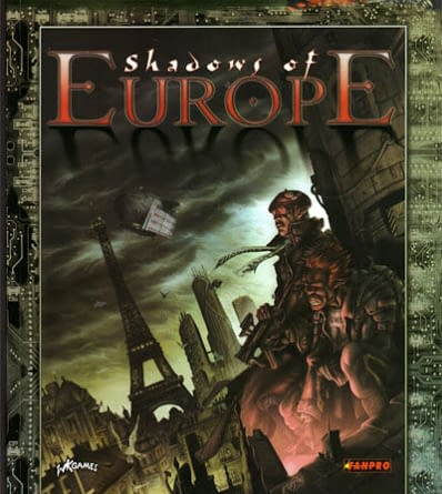 Shadows of Europe - Couverture