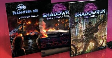Nouvelle fournée de suppléments Shadowrun 6