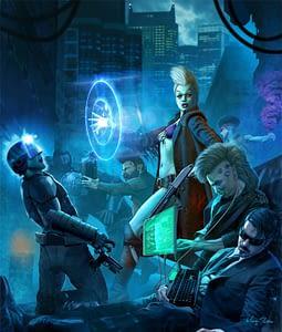Shadowrun 2050 - Marc Sasso - Sally Tsung