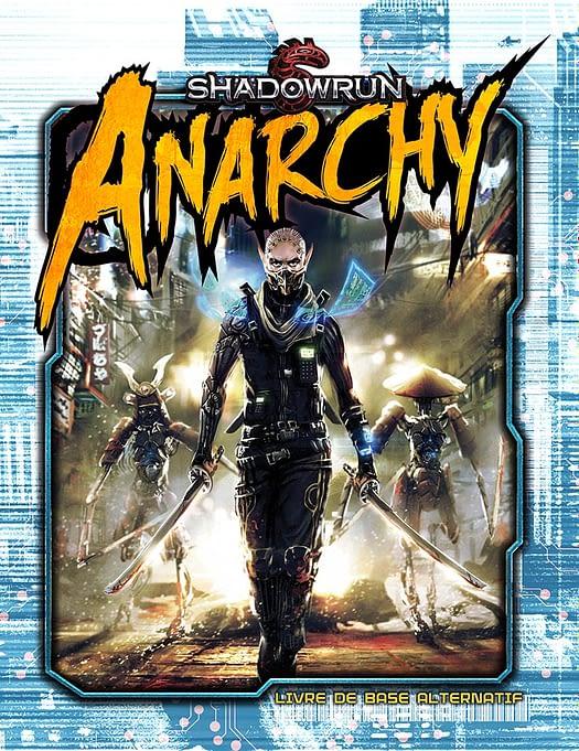 Couverture du livre Shadowrun Anarchy
