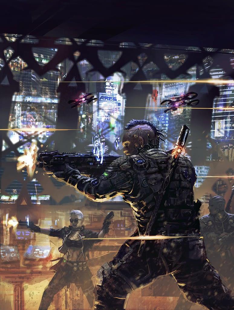 Shadowrun 6 - Firing squad 002